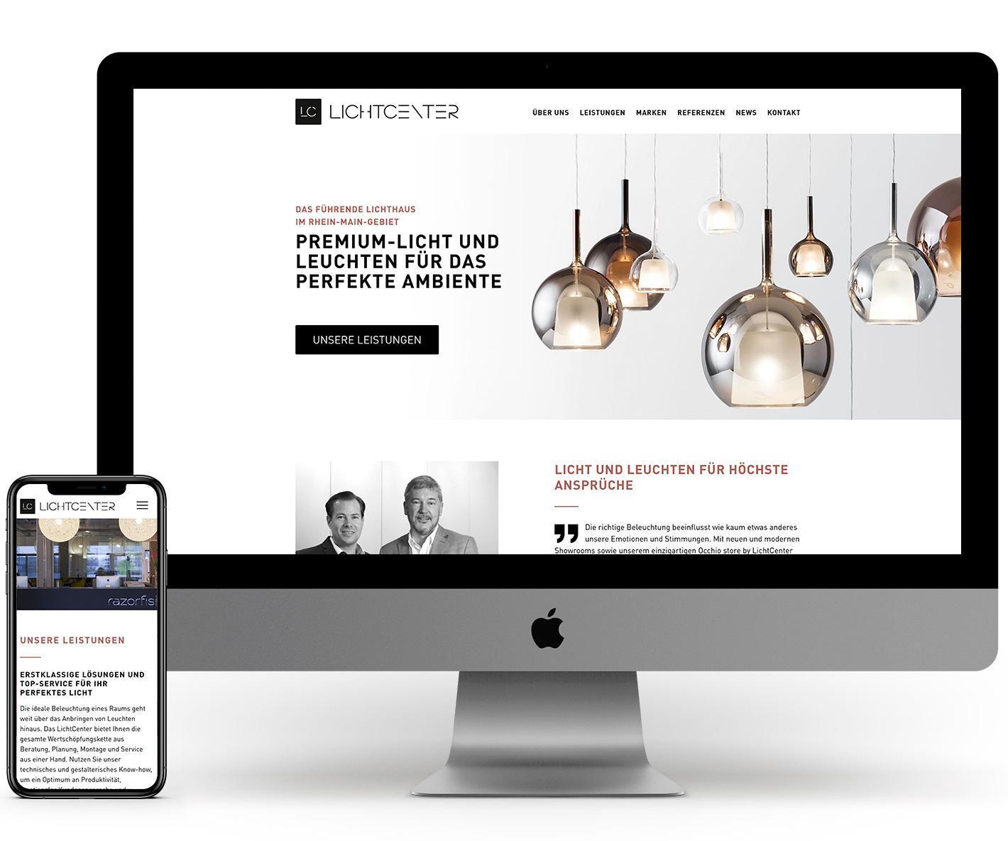 lichtcenter-website-referenzprojekt