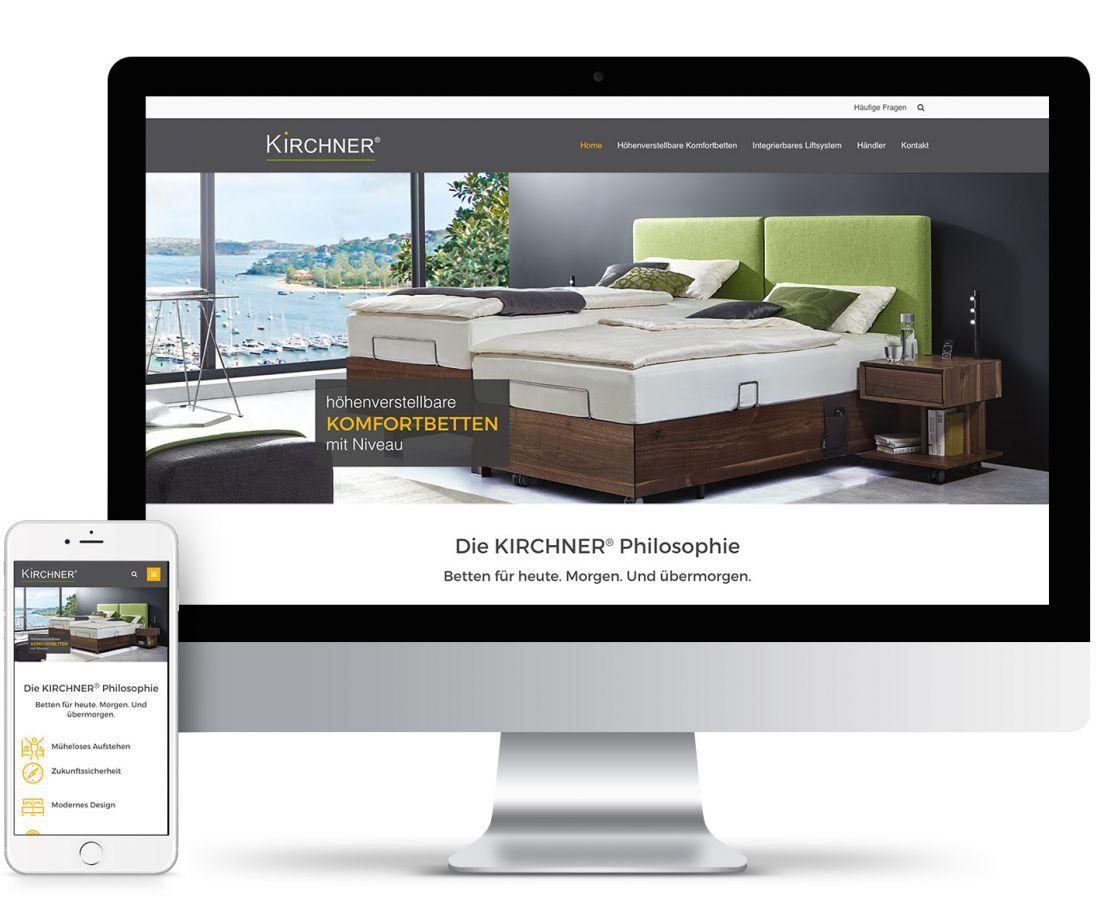 Website-Entwicklung für Kirchner